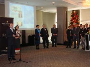 A.caragea speech at award ceremony