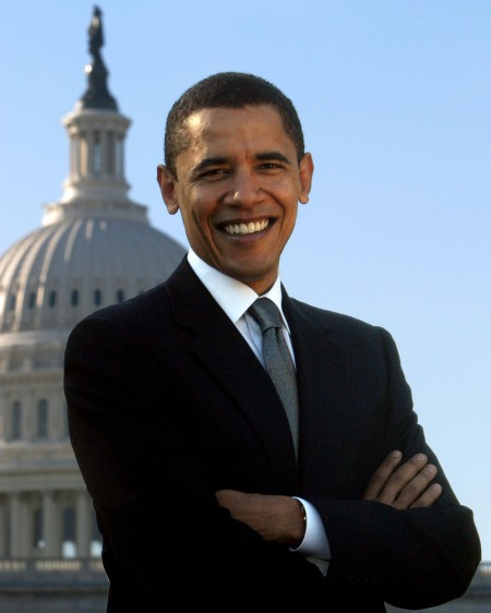 President Barack Obama gets the world