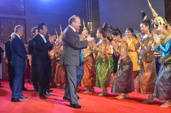 ECTT President Dr. Anton Caragea on the platform of Cambodia-Favorite Cultural Destination