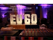 EUROPE DAY-EUROPEAN COUNCIL ON TOURISM AND TRADE CELEBRATION CAKE