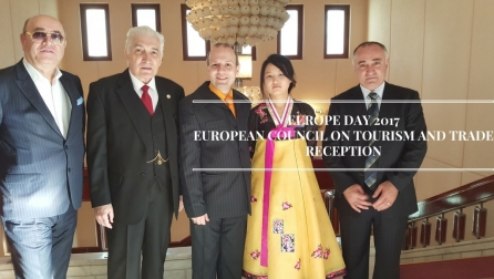 EUROPE DAY-EUROPEAN COUNCIL ON TOURISM AND TRADE KOREAN AMBASSADOR