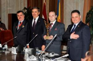 EUROPEAN AWARD FOR DIPLOMATIC ACTIVITY