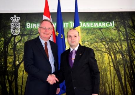 IRICE President Anton Caragea and Ambassador of Denmark