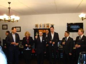 President Anton Caragea PhD opening the International Wine Fair 2014-web