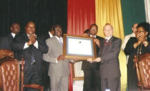 President R.Mugabe and WBTDA-web
