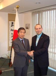 Profesor Dr.Anton Caragea si Ambasador Keiji Yamamoto-web