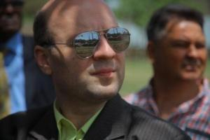 Anton Caragea-European president looking at Axum