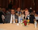 President Dr. Anton Caragea and Dr Tedros Adhanom Ghebreyesus -WHO DirectorGeneral