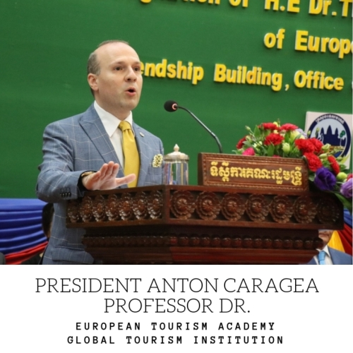 H.E. Professor Dr. Anton Caragea, European Council on Tourism and Trade President