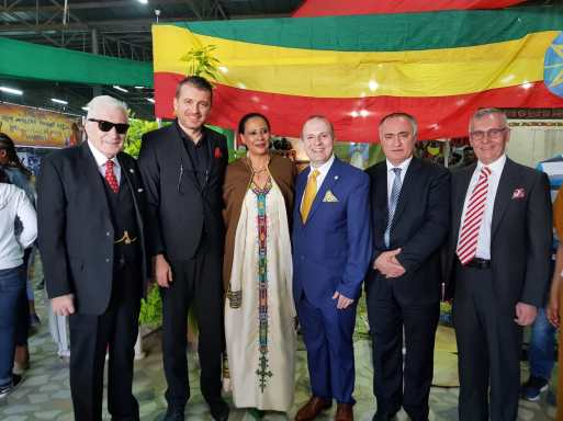 H.E. President Dr. Anton CARAGEA at Addis Ababa World Capital of Culture and Tourism Ceremonies